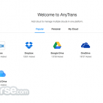 AnyTrans for Cloud App for PC Windows 10 Last Version