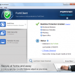 FortiClient App for PC Windows 10 Last Version