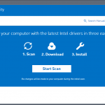 Intel Driver and Support Assistant App for PC Windows 10 Last Version