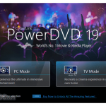 PowerDVD App for PC Windows 10 Last Version