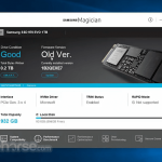 Samsung Magician App for PC Windows 10 Last Version
