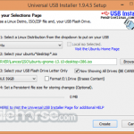 Universal USB Installer App for PC Windows 10 Last Version