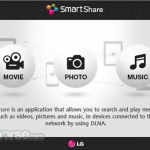 LG SmartShare App for PC Windows 10 Last Version