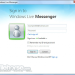 Windows Live Messenger App for PC Windows 10 Last Version