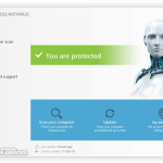 ESET NOD32 Antivirus (32-bit) App for PC Windows 10 Last Version