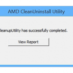 AMD Clean Uninstall Utility App for PC Windows 10 Last Version