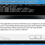 AVG Remover App for PC Windows 10 Last Version