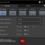 CyberLink Screen Recorder App for PC Windows 10 Last Version