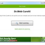 Dr.Web CureIt! App for PC Windows 10 Last Version