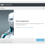ESET AV Remover (32-bit) App for PC Windows 10 Last Version