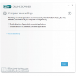 ESET Online Scanner App for PC Windows 10 Last Version