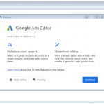 Google Ads Editor App for PC Windows 10 Last Version