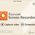 IceCream Screen Recorder App for PC Windows 10 Last Version