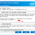 Intel Chipset Device Software App for PC Windows 10 Last Version