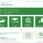Quick Heal Total Security (32-bit) App for PC Windows 10 Last Version