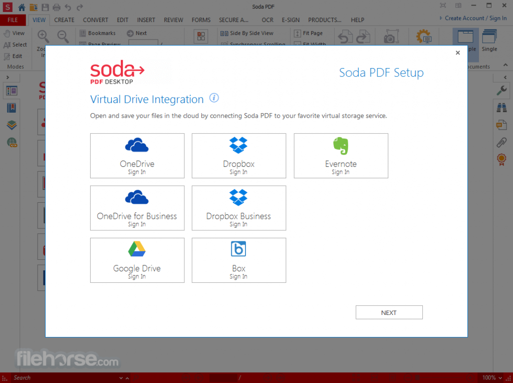 Soda PDF Desktop Free App for PC Windows 10 Last Version