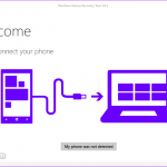 Windows Device Recovery Tool App for PC Windows 10 最後のバージョン