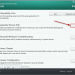 Kaspersky Rescue Disk App for PC Windows 10 Last Version