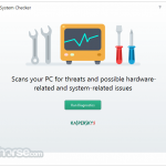 Kaspersky System Checker App for PC Windows 10 Last Version