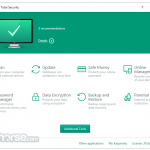 Kaspersky Total Security App for PC Windows 10 Last Version