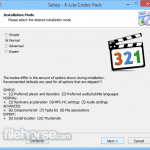 K-Lite Codec Pack Basic App for PC Windows 10 Last Version