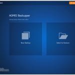 AOMEI Backupper Standard App for PC Windows 10 Last Version
