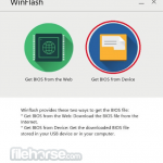 ASUS WinFlash App for PC Windows 10 Last Version