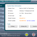 DirectX Happy Uninstall App for PC Windows 10 Last Version