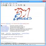 Emacs (32-bit) App for PC Windows 10 Last Version
