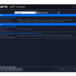Gigabyte App Center App for PC Windows 10 Last Version